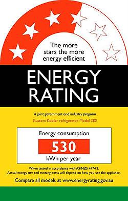 energy rating australia