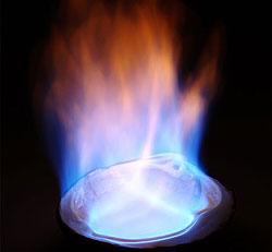 Ethanol Flame