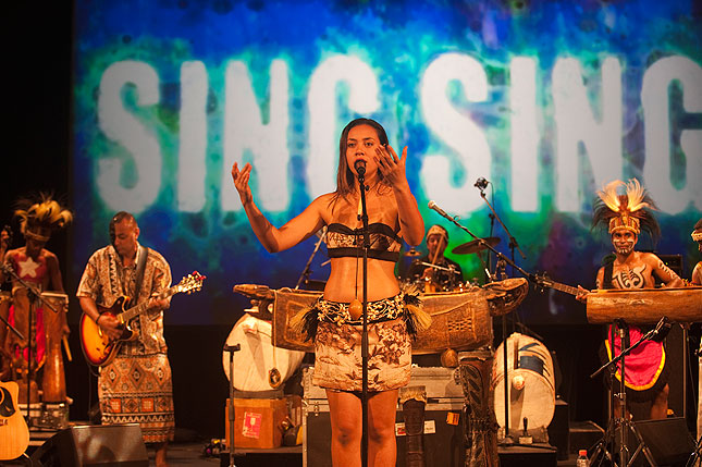 Wantok sing sing to appear at Boomerang festival n Byron Bay