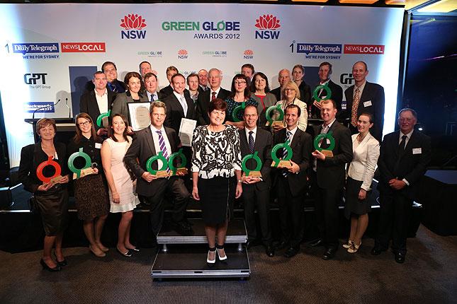 green globe 2012 winners