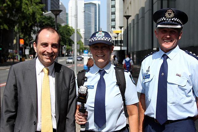 zebedee with queensland police