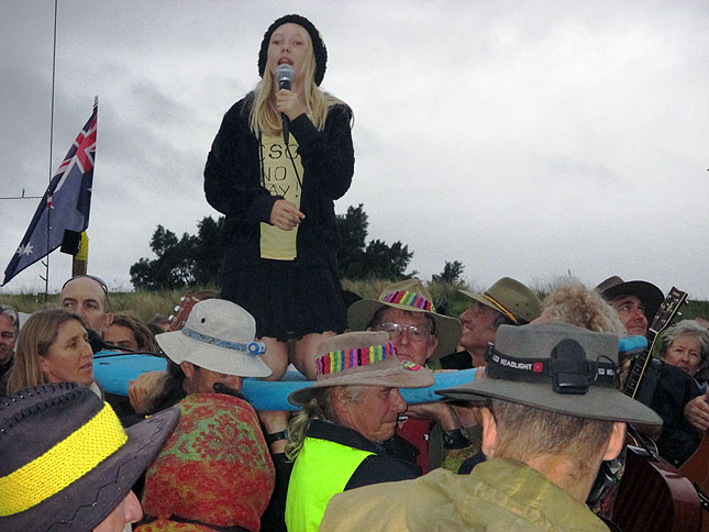 bentley blockade people power