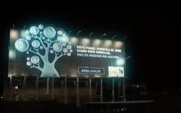 billboard air filter peru