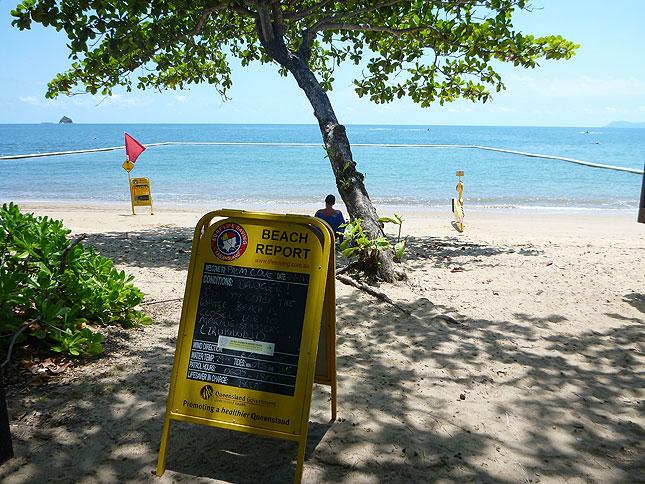 Irukandji beach closure