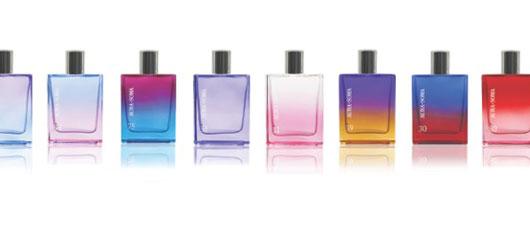 The amazing colourful Aura-Soma fragrances