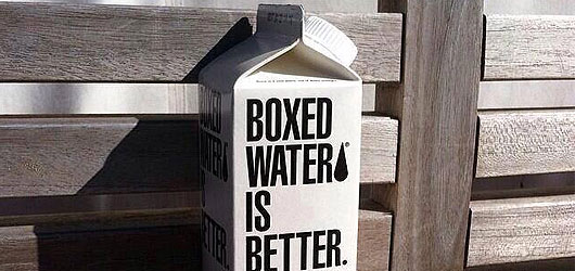 Think inside the box – Boxed Water is Better